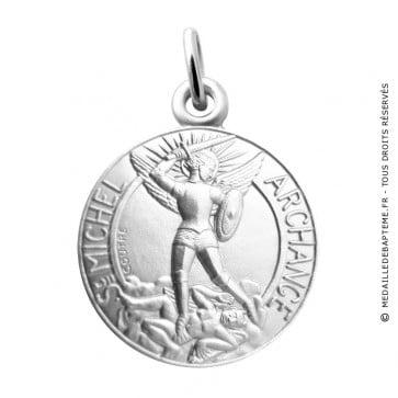 Médaille Archange Saint Michel Martineau (Argent)
