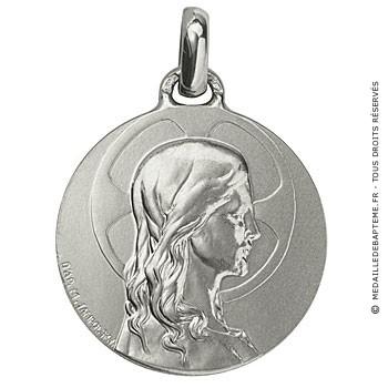 Médaille Christ adolescent (Argent)