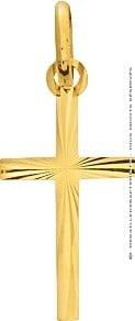 Croix Fantaisie (Or jaune)