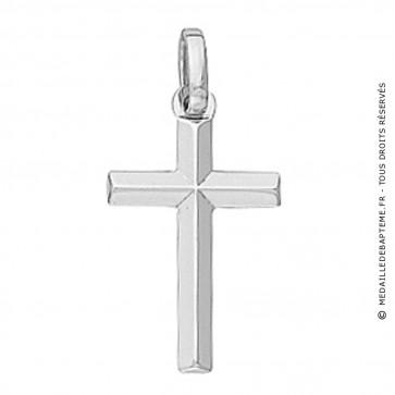 Croix Fil Biseauté