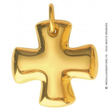 Croix Grecque (Or Jaune)