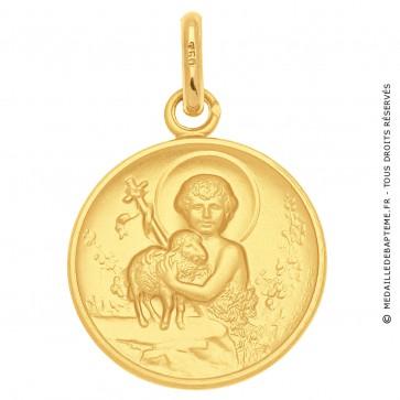 Médaille Agneau de Dieu et St Jean-Baptiste