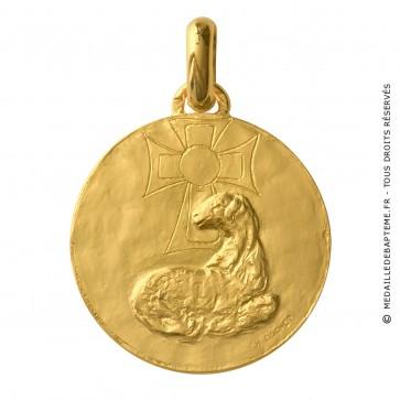 Médaille Agneau Mystique (Or Jaune) - La Monnaie de Paris