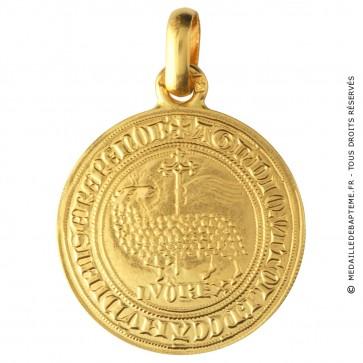 Médaille Agnel de Louis x (Or Jaune)