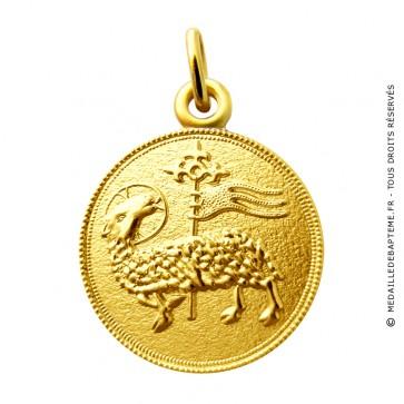 Médaille Agnus Dei Martineau (Or Jaune)