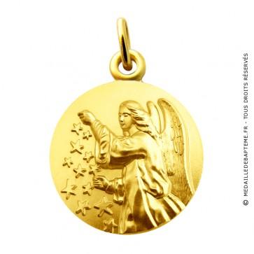 Médaille Ange aux étoiles Martineau (Or Jaune)