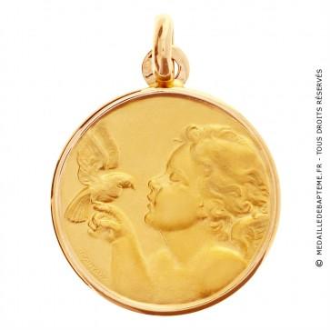 Médaille Ange à la colombe