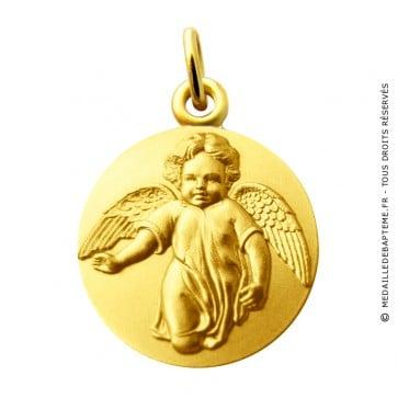 Médaille Ange marchant Martineau (Or Jaune)