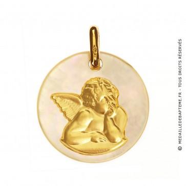 Médaille Ange Nacre