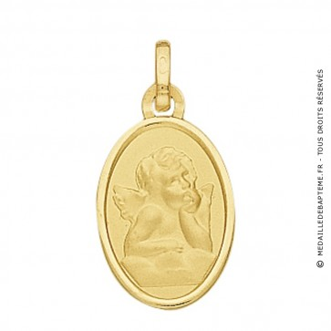 Médaille Ange Ovale