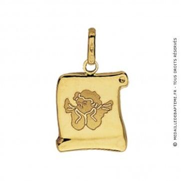 Médaille Ange Parchemin