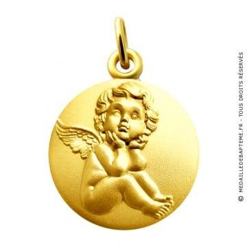 Médaille L'ange pensif Martineau (Or Jaune)