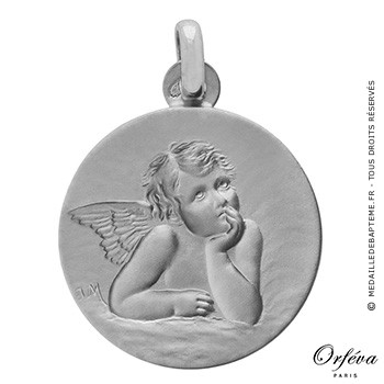Médaille Ange Raphaël (argent)