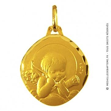 Médaille Augis Ange au carquois (Or Jaune)