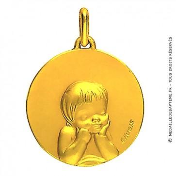 Médaille Chérubin (Or Jaune)
