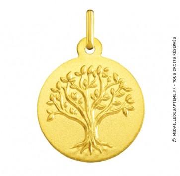 Médaille arbre de vie (Or Jaune)