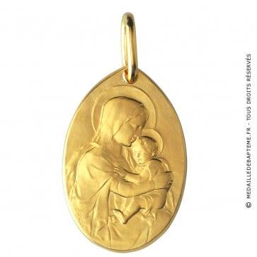 Médaille Bapteme (Or Jaune) - La Monnaie de Paris