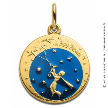 Médaille Petit Prince aux oiseaux - Monnaie de Paris