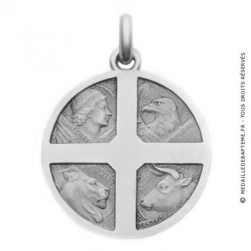Médaille Becker 4 Evangélistes (Argent)