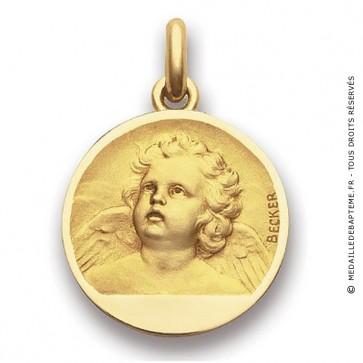 Médaille Ange Becker  - medaillle bapteme Becker