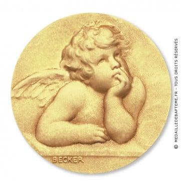 Médaille Becker Ange Raphael
