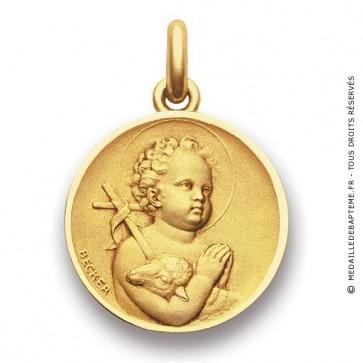 Médaille Ange Saint Jean  - medaillle bapteme Becker