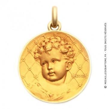 Médaille Bébé Becker  - medaillle bapteme Becker