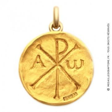 Médaille Chrisme  - medaillle bapteme Becker