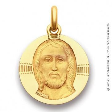 Médaille Christ Byzantin  - medaillle bapteme Becker