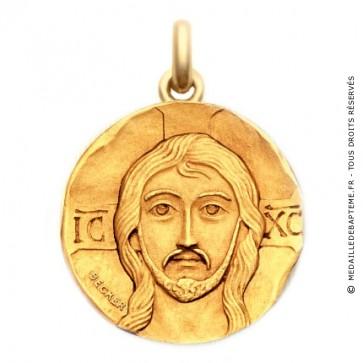 Médaille Christ Pantocrator  - medaillle bapteme Becker