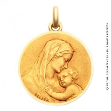 Médaille de la Maternité  - medaillle bapteme Becker