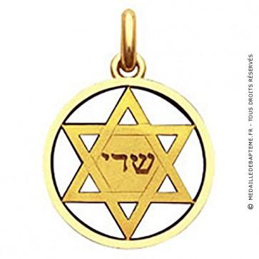 Médaille Etoile de David