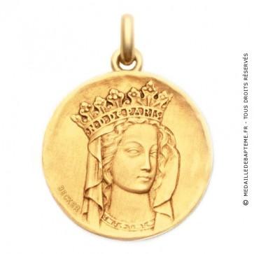 Médaille Notre Dame de Paris  - medaillle bapteme Becker