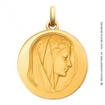 Médaille Purissima  - medaillle bapteme Becker