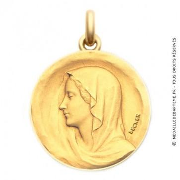 Médaille Regina  - medaillle bapteme Becker