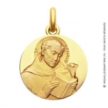 Médaille Saint Arnaud  - medaillle bapteme Becker