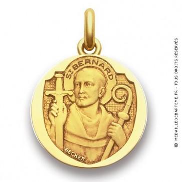 Médaille Saint Bernard  - medaillle bapteme Becker
