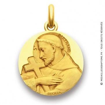 Médaille Saint Bertrand  - medaillle bapteme Becker