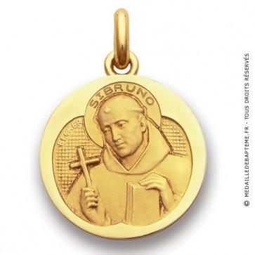 Médaille Saint Bruno  - medaillle bapteme Becker