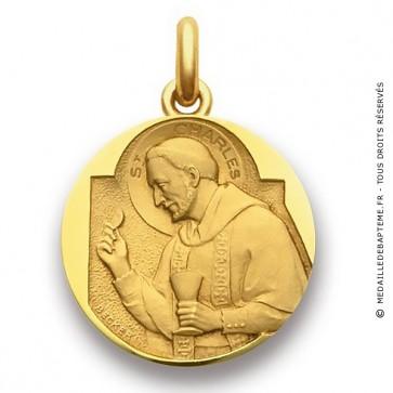 Médaille Saint Charles  - medaillle bapteme Becker