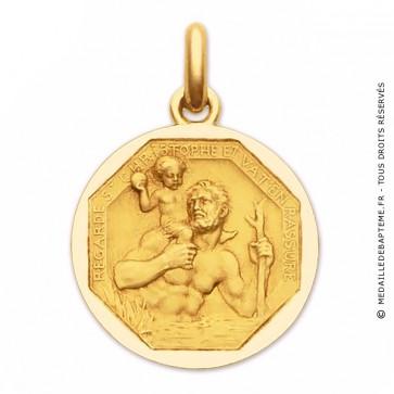 Médaille Saint Christophe  - medaillle bapteme Becker