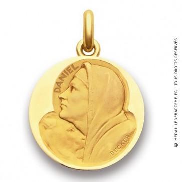 Médaille Saint Daniel  - medaillle bapteme Becker