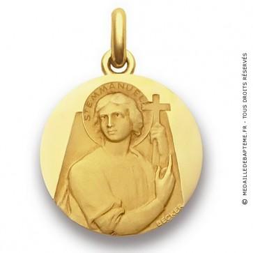 Médaille Saint Emmanuel  - medaillle bapteme Becker