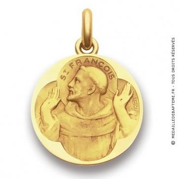Médaille Saint François d'Assise  - medaillle bapteme