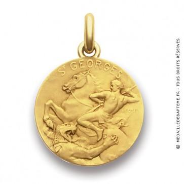 Médaille Saint Georges  - medaillle bapteme Becker