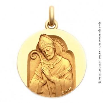 Médaille Saint Gerald  - medaillle bapteme Becker