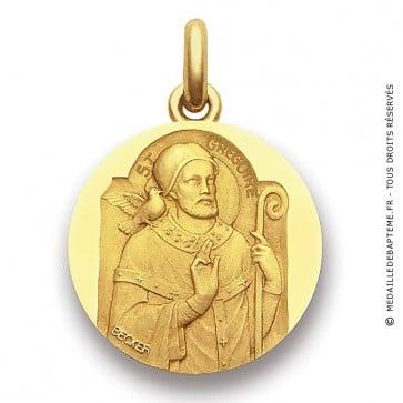 Médaille Saint Grégoire  - medaillle bapteme Becker