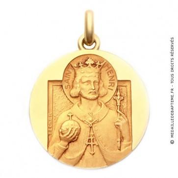 Médaille Saint Henri  - medaillle bapteme Becker