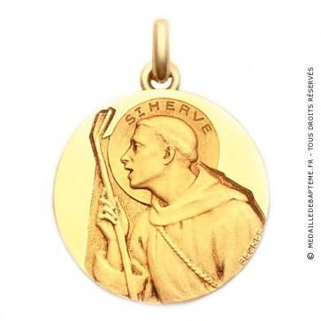 Médaille Saint Hervé  - medaillle bapteme Becker