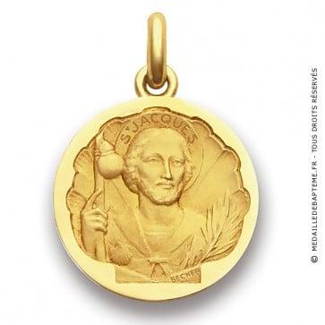 Médaille Saint Jacques  - medaillle bapteme Becker